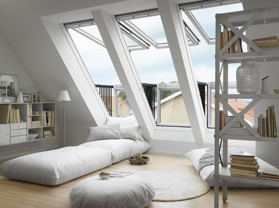 Dachflächenfenster velux  Meurer Bauelemente